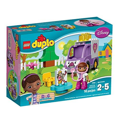 レゴ デュプロ 6101245 LEGO DUPLO Brand Disney 10605 Doc McStuffins Rosie the Ambulance Building Kitレゴ デュプロ 6101245