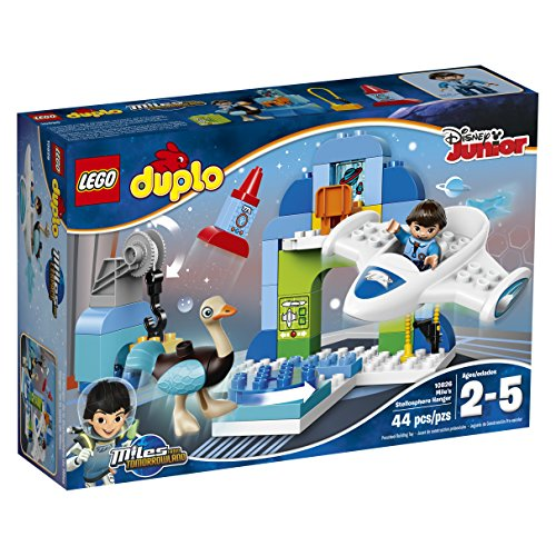 レゴ デュプロ 6138020 【送料無料】LEGO DUPLO Disney Junior Miles From Tomorrowland Miles' Stellosphere Hangar (10826)レゴ デュプロ 6138020