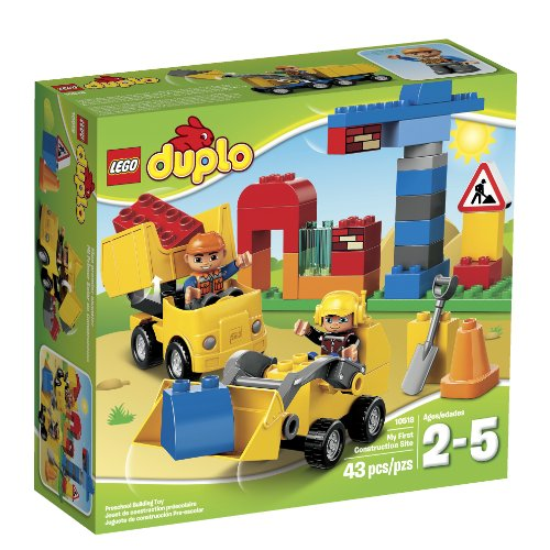 レゴ デュプロ 6070175 LEGO DUPLO Town 10518 My First Construction Site Building Set(Discontinued by manufacturer)レゴ デュプロ 6070175