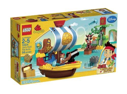 レゴ デュプロ 6024859 LEGO DUPLO Jakes Pirate Ship Bucky 10514(Discontinued by manufacturer)レゴ デュプロ 6024859