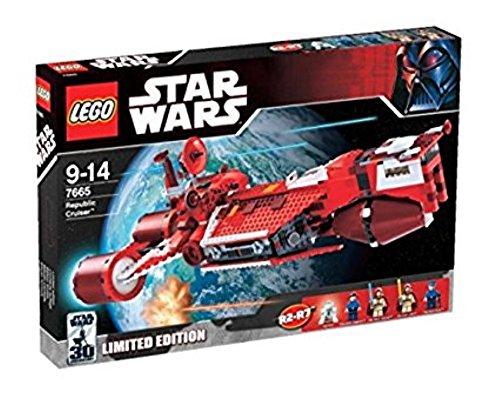レゴ スターウォーズ 7665 Lego Star Wars Republic Cruiser 7665レゴ スターウォーズ 7665