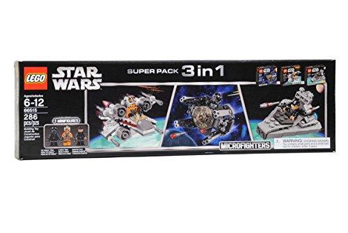 レゴ スターウォーズ Star Wars Lego Super Pack 3 in 1 Microfighters 66515レゴ スターウォーズ