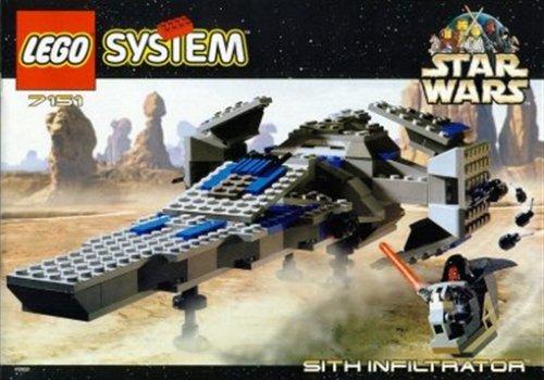 レゴ スターウォーズ 7151 LEGO Star Wars Episode 1 Darth Maul Sith Infiltrator Spaceship Set 7151 (1999)レゴ スターウォーズ 7151