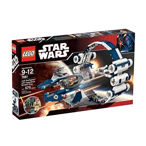 レゴ スターウォーズ 【送料無料】Star Wars LEGO Set #7661 Jedi Starfighter with Hyperdrive Booster Ringレゴ スターウォーズ