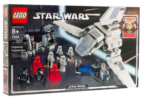 レゴ スターウォーズ 【送料無料】LEGO Imperial Inspection Shuttle (7264)レゴ スターウォーズ