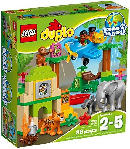 レゴ デュプロ 10804 【送料無料】LEGO DUPLO - Jungle Set - Age 2-5 - 86 Pieces - 10804レゴ デュプロ 10804