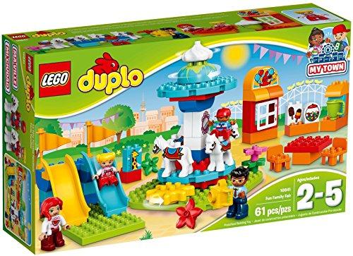 レゴ Building Fun デュプロ 10841 10841 LEGO Duplo Town Fun Family Fair Building Kit, Multicolorレゴ デュプロ 10841, 刈谷市:9deeee37 --- krianta.ru