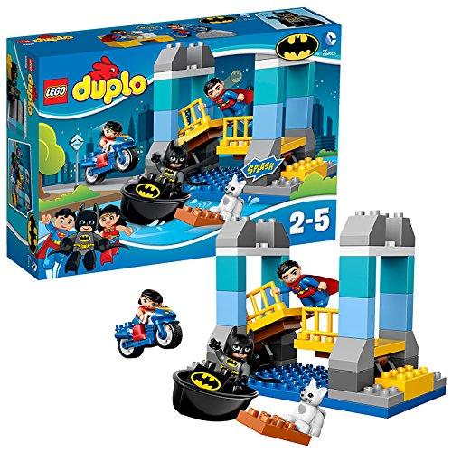 レゴ スーパーヒーローズ マーベル DCコミックス スーパーヒーローガールズ 10599 LEGO Duplo Super Heroes Batman Adventure 47 Piece Building Kit | 10599レゴ スーパーヒーローズ マーベル DCコミックス スーパーヒーローガールズ 10599