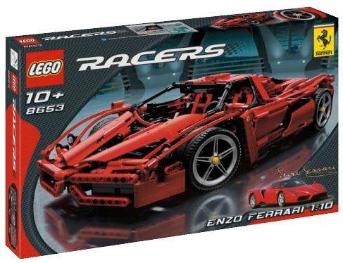 レゴ 118747 LEGO Racers Enzo Ferrari 1:10 Scaleレゴ 118747