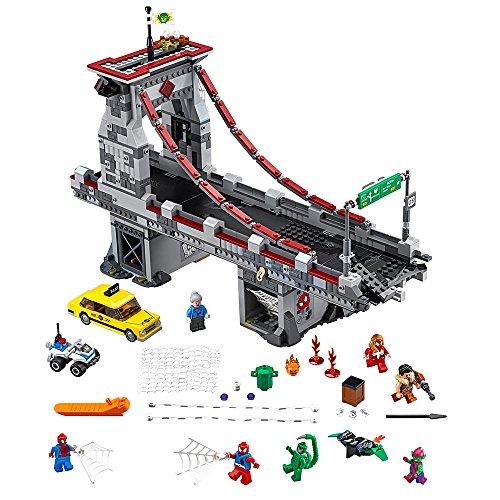 レゴ スーパーヒーローズ マーベル DCコミックス スーパーヒーローガールズ 6137826 【送料無料】LEGO Marvel Super Heroes Spider-Man: Web Warriors Ultimate Bridge 76057 Spレゴ スーパーヒーローズ マーベル DCコミックス スーパーヒーローガールズ 6137826