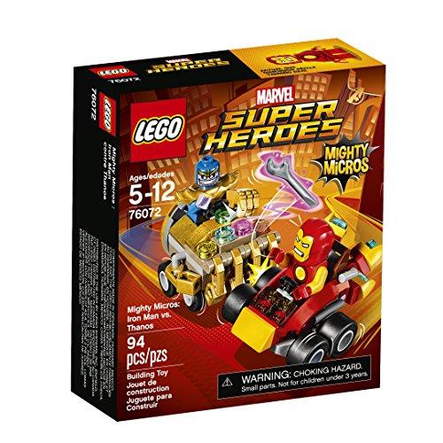 レゴ スーパーヒーローズ マーベル DCコミックス スーパーヒーローガールズ 6175483 LEGO Super Heroes Mighty Micros: Iron Man Vs. Thanos 76072 Building Kitレゴ スーパーヒーローズ マーベル DCコミックス スーパーヒーローガールズ 6175483