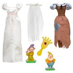白雪姫 スノーホワイト ディズニープリンセス Disney Princess Exclusive Wardrobe and Friends Set - 6 Pcs - Snow White白雪姫 スノーホワイト ディズニープリンセス