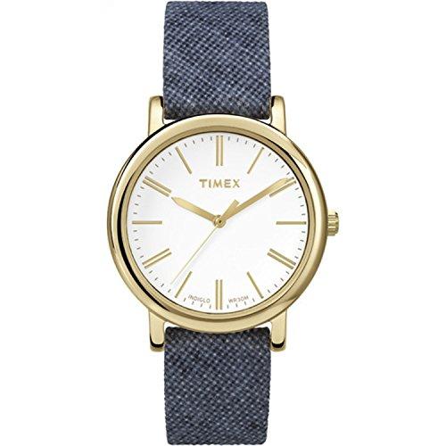 タイメックス 腕時計 レディース TW2P63800 Timex Women's Originals Linen | Blue Fabric Strap Minimal Dial | Watch TW2P63800タイメックス 腕時計 レディース TW2P63800