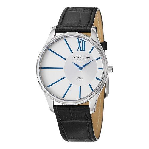 ストゥーリングオリジナル 腕時計 メンズ 553.33152 Stuhrling Original Men's 553.33152 Cuvette SD Date Blackストゥーリングオリジナル 腕時計 メンズ 553.33152