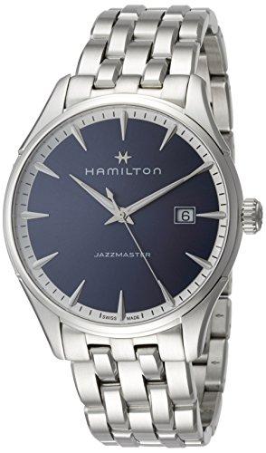 ハミルトン 腕時計 メンズ H32451141 【送料無料】Hamilton Jazzmaster Blue Dial Mens Watch H32451141ハミルトン 腕時計 メンズ H32451141