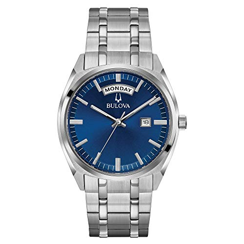 ブローバ 腕時計 メンズ 96C125 Bulova Men's Classic Quartz Watch with Stainless-Steel Strap, Silver, 22 (Model: 96C125)ブローバ 腕時計 メンズ 96C125