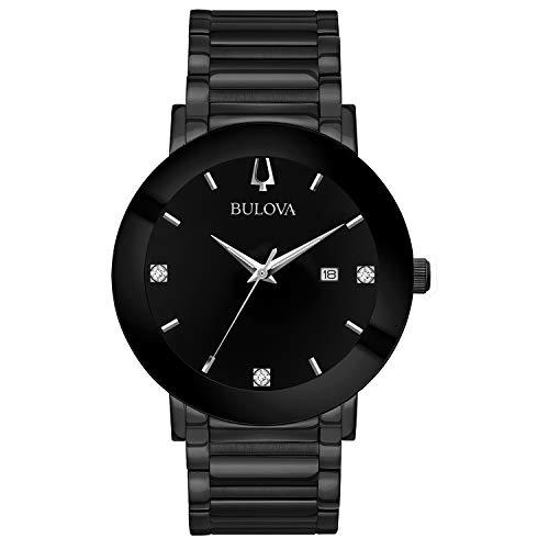 ブローバ 腕時計 メンズ 98D144 【送料無料】Bulova Men's Modern Quartz Watch with Stainless-Steel Strap, Black, 22 (Model: 98D144)ブローバ 腕時計 メンズ 98D144