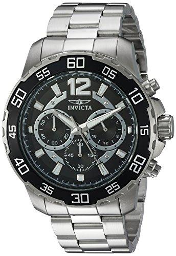インヴィクタ インビクタ プロダイバー 腕時計 メンズ 22712 【送料無料】Invicta Men's Pro Diver Quartz Watch with Stainless-Steel Strap, Silver, 22 (Model: 22712)インヴィクタ インビクタ プロダイバー 腕時計 メンズ 22712
