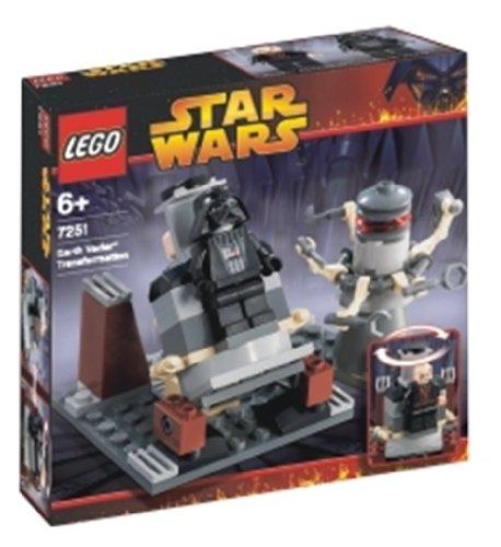 レゴ スターウォーズ 118751 7251 transformation to LEGO Star Wars Darth Vader (japan import)レゴ スターウォーズ 118751