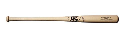 バット ルイビルスラッガー 野球 ベースボール メジャーリーグ WTLWPMJP1A1733 Louisville Slugger JP12 MLB Prime Maple Holograph Baseball Bat, Natural/Hologram, 33