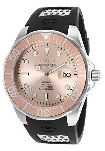 インヴィクタ インビクタ プロダイバー 腕時計 メンズ INVICTA-17576 Invicta 17576 Men's Pro Diver Auto Black Polyurethane Rose-Tone Dial Watchインヴィクタ インビクタ プロダイバー 腕時計 メンズ INVICTA-17576
