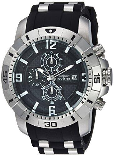 インヴィクタ インビクタ プロダイバー 腕時計 メンズ 24962 【送料無料】Invicta Men's Pro Diver Quartz Watch with Stainless-Steel Strap, Black, 26 (Model: 24962)インヴィクタ インビクタ プロダイバー 腕時計 メンズ 24962