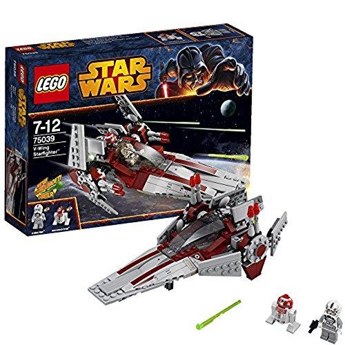レゴ スターウォーズ 75039 LEGO Star Wars Revenge of the Sith V-Wing Starfighter w/ 2 Minifigures | 75039レゴ スターウォーズ 75039