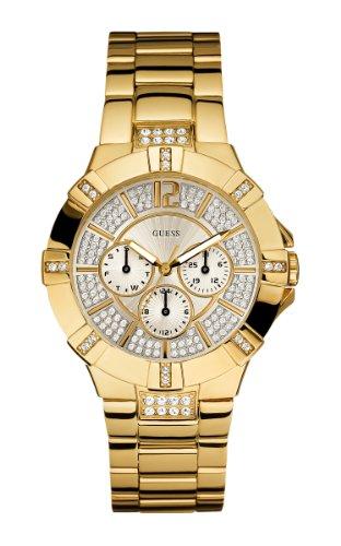 ゲス GUESS 腕時計 レディース U13576L1 【送料無料】GUESS Women's U13576L1 Dazzling Sporty Gold-Tone Watchゲス GUESS 腕時計 レディース U13576L1