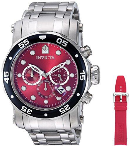 インヴィクタ インビクタ プロダイバー 腕時計 メンズ 10577 Invicta 10577 Men`s Pro Diver Scuba Swiss Quartz Chronograph Interchangeable Strap Watchインヴィクタ インビクタ プロダイバー 腕時計 メンズ 10577