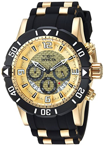 インヴィクタ インビクタ プロダイバー 腕時計 メンズ 23700 Invicta Men's Pro Diver Stainless Steel Analog-Quartz Diving Watch with Polyurethane Strap, Two Tone, 26 (Model: 23700)インヴィクタ インビクタ プロダイバー 腕時計 メンズ 23700