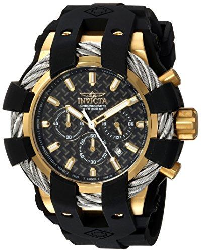 インヴィクタ インビクタ ボルト 腕時計 メンズ 23860 【送料無料】Invicta Men's Bolt Stainless Steel Quartz Watch with Silicone Strap, Black, 32 (Model: 23860)インヴィクタ インビクタ ボルト 腕時計 メンズ 23860