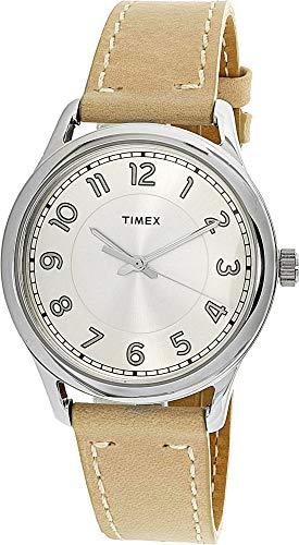 タイメックス 腕時計 レディース TW2R23200 Timex Women's TW2R23200 Tan Leather Analog Quartz Fashion Watchタイメックス 腕時計 レディース TW2R23200