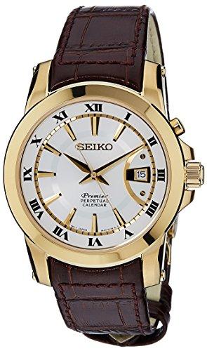 セイコー 腕時計 メンズ SNQ144P1 Seiko Mens PREMIER PERPETUAL CALENDAR Analog Dress Quartz Watch NWT SNQ144P1セイコー 腕時計 メンズ SNQ144P1