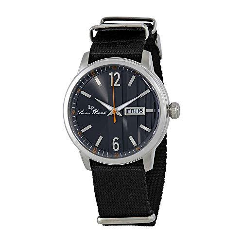 腕時計 ルシアンピカール メンズ 【送料無料】Lucien Piccard Milanese Dial Men's Textile Watch 40027-01-NS腕時計 ルシアンピカール メンズ