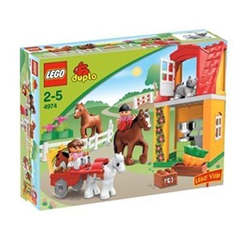 レゴ デュプロ 4495597 DUPLO LEGO Ville Horse Stables (4974)レゴ デュプロ 4495597