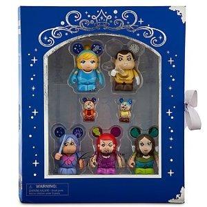 シンデレラ ディズニープリンセス Vinylmation 2012 Cinderella - 7pc Collector's Edition Set - In Collector's Story Book Box by Disneyシンデレラ ディズニープリンセス