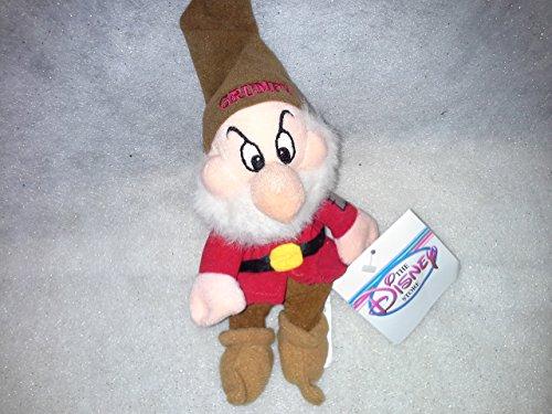 白雪姫 スノーホワイト ディズニープリンセス 【送料無料】Grumpy Beanie Baby from Snow White and the Seven Dwarfs白雪姫 スノーホワイト ディズニープリンセス