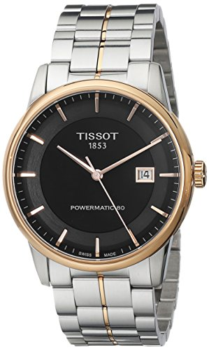 ティソ 腕時計 メンズ TIST0864072205100 【送料無料】Tissot Men's TIST0864072205100 Powermatic 80 Analog Display Swiss Automatic Two Tone Watchティソ 腕時計 メンズ TIST0864072205100