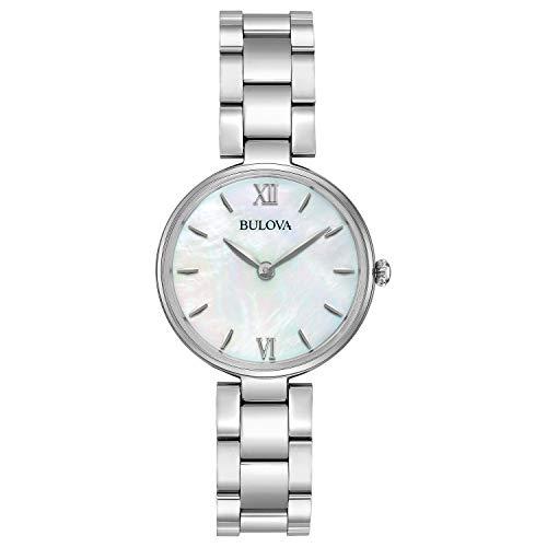 腕時計 ブローバ レディース 96L229 【送料無料】Bulova Women's Analog-Quartz Watch with Stainless-Steel Strap, Silver, 12 (Model: 96L229)腕時計 ブローバ レディース 96L229