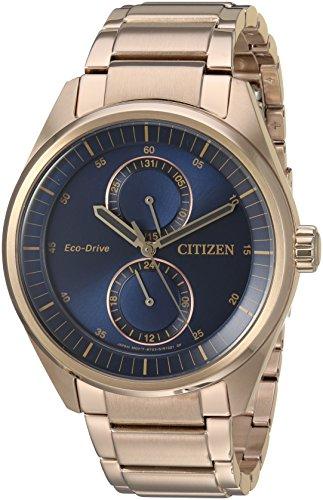 シチズン 逆輸入 海外モデル 海外限定 アメリカ直輸入 BU3013-53L 【送料無料】Citizen Men's 'Dress' Quartz Stainless Steel Casual Watch, Color:Rose Gold-Toned (Model: BU3013-53L)シチズン 逆輸入 海外モデル 海外限定 アメリカ直輸入 BU3013-53L