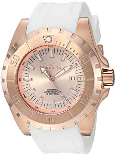 インヴィクタ インビクタ プロダイバー 腕時計 メンズ 23803 【送料無料】Invicta Men's Pro Diver Stainless Steel Automatic-self-Wind Watch with Silicone Strap, White, 24 (Model: 23803)インヴィクタ インビクタ プロダイバー 腕時計 メンズ 23803