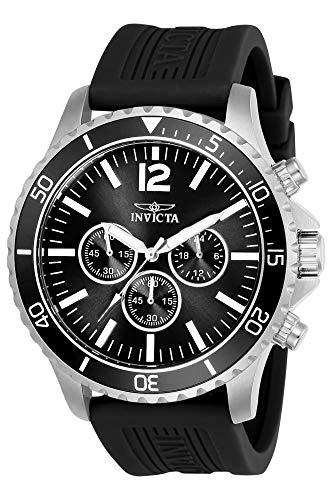 インヴィクタ インビクタ プロダイバー 腕時計 メンズ 24393 【送料無料】Invicta Men's Pro Diver Stainless Steel Quartz Watch with Polyurethane Strap, Black, 24 (Model: 24393)インヴィクタ インビクタ プロダイバー 腕時計 メンズ 24393