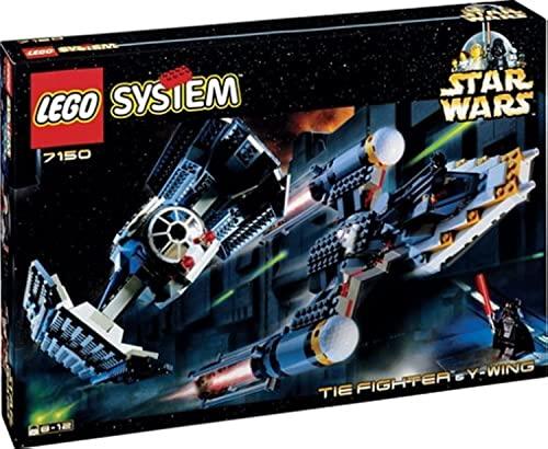 レゴ スターウォーズ 7150 【送料無料】LEGO Star Wars Tie Fighter and Y Wing 7150レゴ スターウォーズ 7150