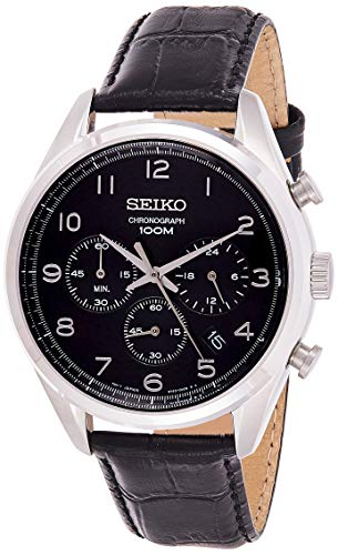 セイコー 腕時計 メンズ Chronograph SEIKO SSB231P1 Neo Classic Chronograph Leather Man Silverセイコー 腕時計 メンズ Chronograph