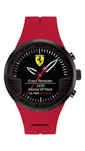 フェラーリ 腕時計 メンズ 0830374 【送料無料】Ferrari Ultraveloce Quartz Movement Black Dial Men's Watch 830374フェラーリ 腕時計 メンズ 0830374