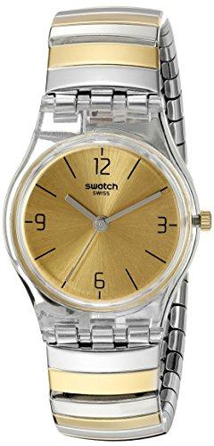 スウォッチ 腕時計 レディース LK351B Swatch Women's LK351B Analog Display Quartz Two Tone Watchスウォッチ 腕時計 レディース LK351B