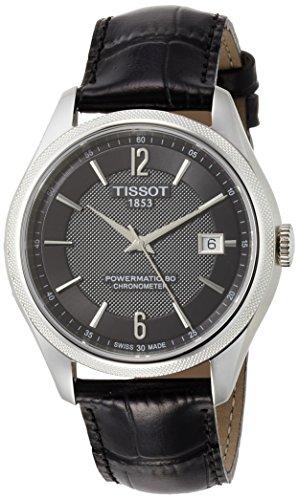 ティソ 腕時計 メンズ T1084081605700 【送料無料】Tissot T-Classic Ballade Automatic Black Dial Mens Watch T108.408.16.057.00ティソ 腕時計 メンズ T1084081605700