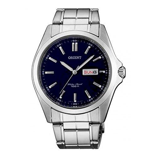 腕時計 オリエント メンズ FUG1H001D6 【送料無料】Orient FUG1H001D6 40mm Silver Steel Bracelet & Case Mineral Men's Watch腕時計 オリエント メンズ FUG1H001D6