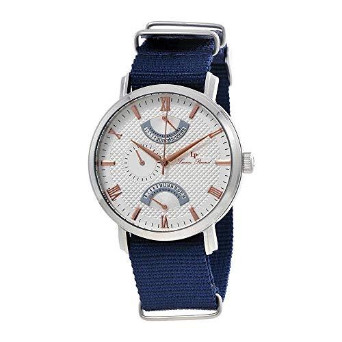 ルシアンピカール 腕時計 メンズ 【送料無料】Lucien Piccard Multi-Function Silver Dial Men's Watch 10340-02S-RA-NBNSルシアンピカール 腕時計 メンズ
