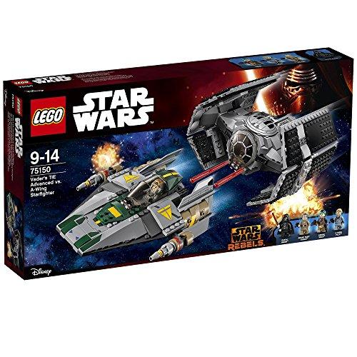 レゴ スターウォーズ 75150 TIE Advanced of Lego Star Wars Darth Vader vs A wing starfighter 75150レゴ スターウォーズ 75150